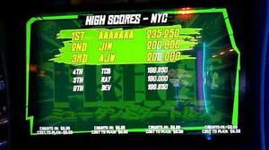 Teenage Mutant Ninja Turtles (2017 arcade game) Attract Mode