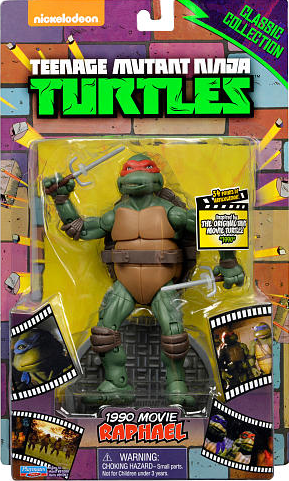 Classic Collection 1990 Movie Raphael (2014 action figure)