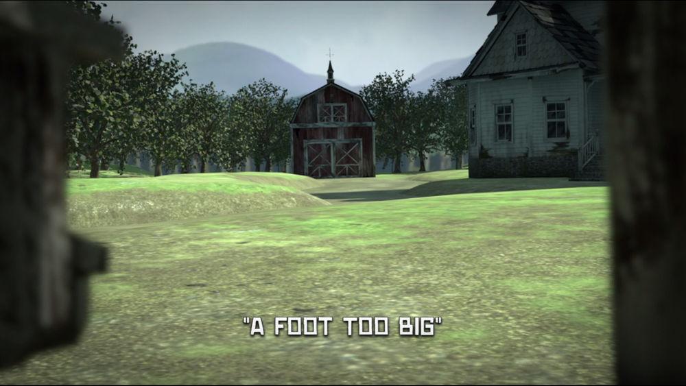 A Foot Too Big