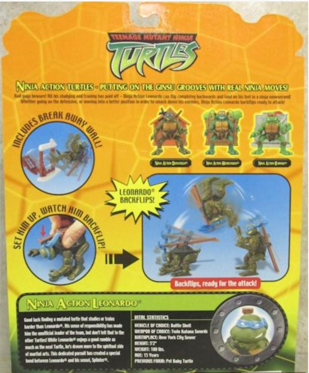 Ninja Action Leonardo (2004 action figure)