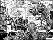 TMNT vs. the Mousers lair