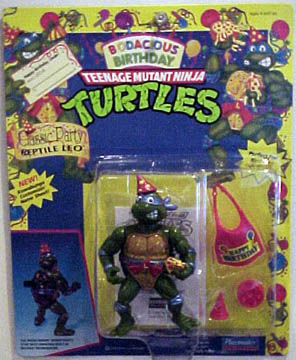 Classic Party Reptile Leo (1992 action figure)