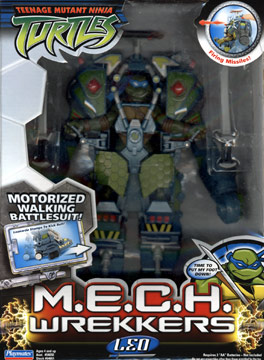 M.E.C.H. Wrekkers Leo (2005 toy)