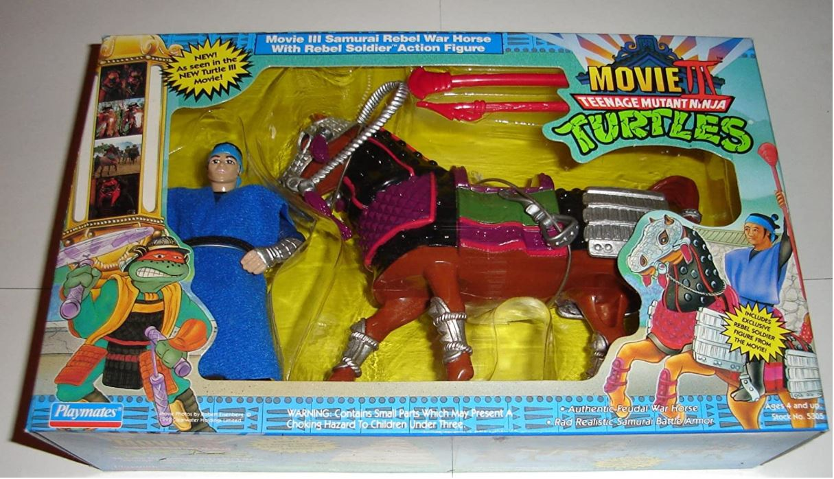 MOVIE III ACTION FIGURE ACCESSORY PLAYMATES WARHORSE STAFF TMNT