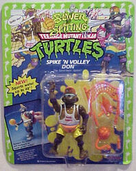Spike 'n volley don
