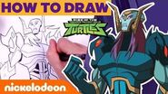How To Draw the Rise of the TMNT Villains ft