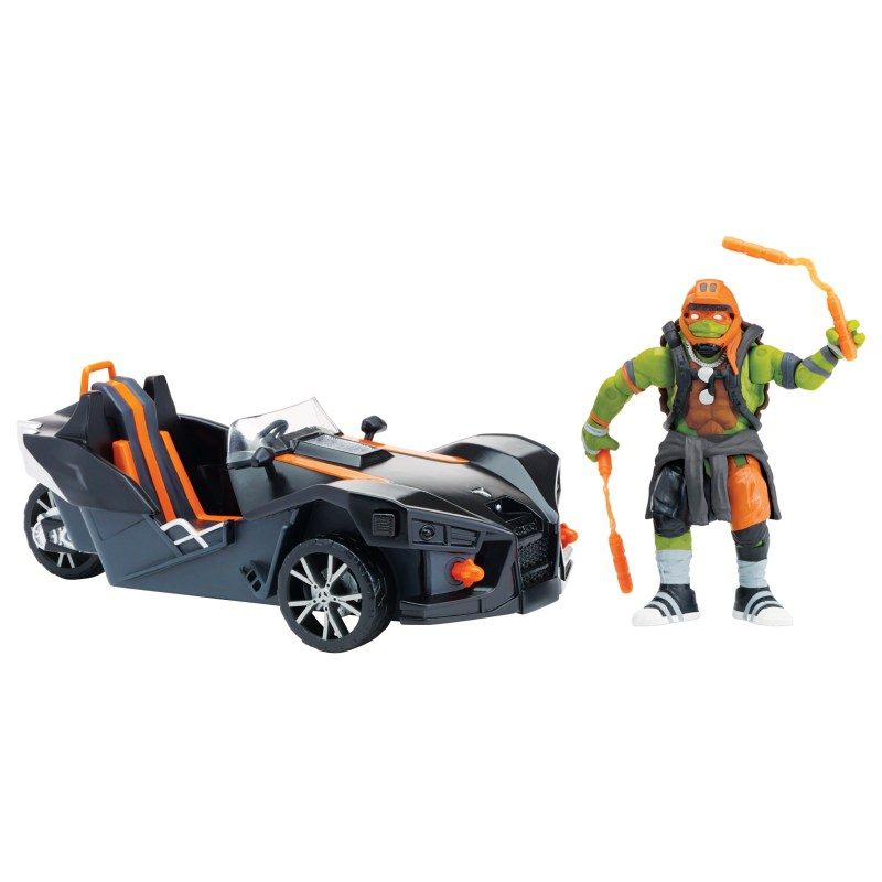 Polaris Slingshot & Michelangelo (2016 toy)