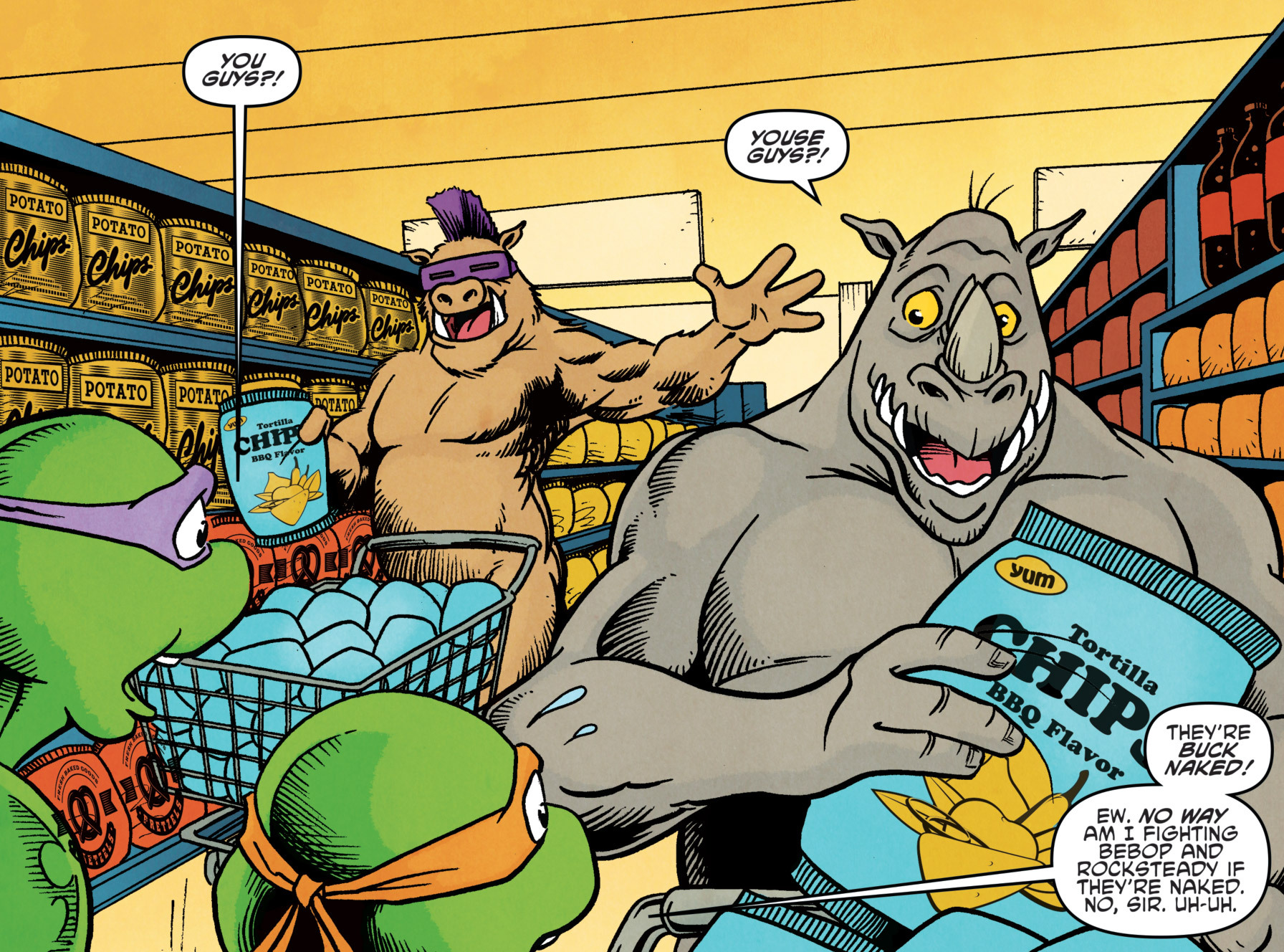 Bebop and Rocksteady (Archie)