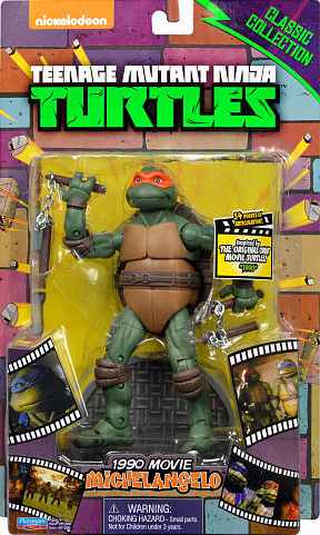 Classic Collection 1990 Movie Michelangelo (2014 action figure)
