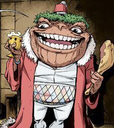 Toad Baron Christmas Present