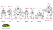 Rise height chart