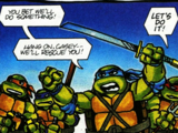 Teenage Mutant Ninja Turtles Cereal Comics