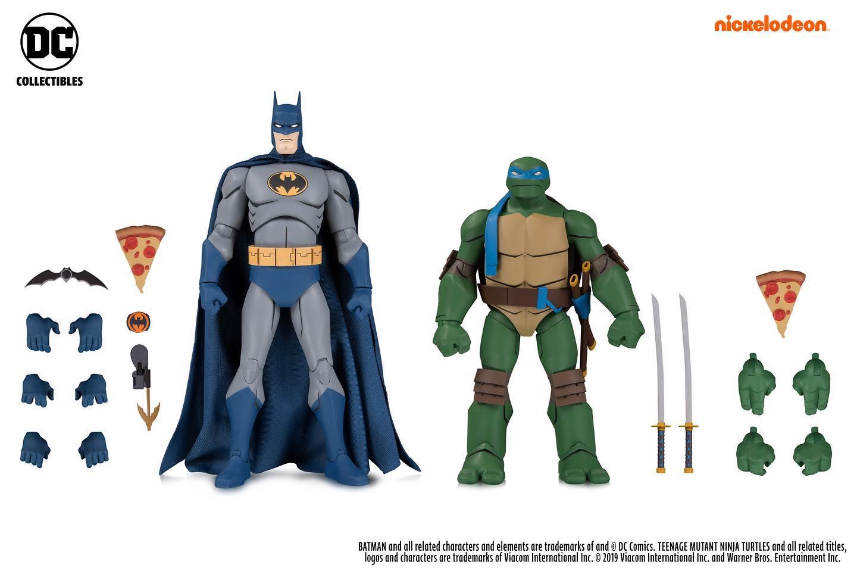 Batman & Leonardo (2019 action figure set)