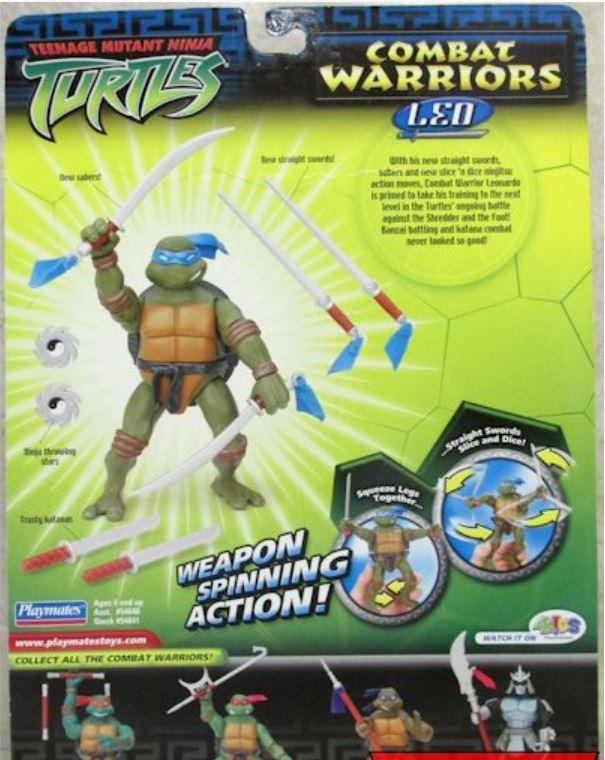 Combat Warriors Leo (2005 action figure)
