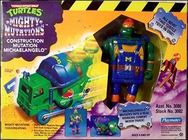 Construction Mutation Michaelangelo (1994 action figure)