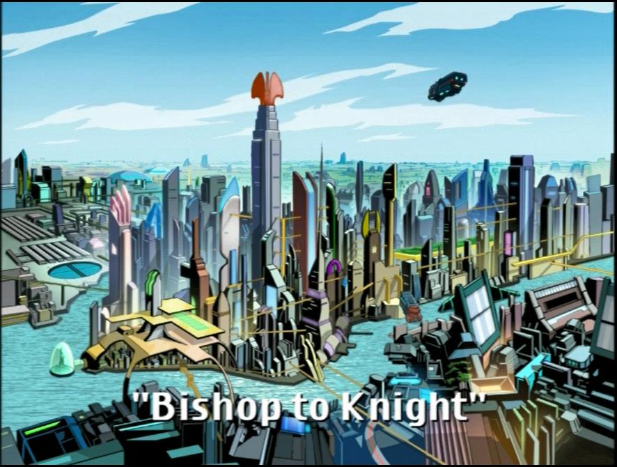 Bishop to Knight