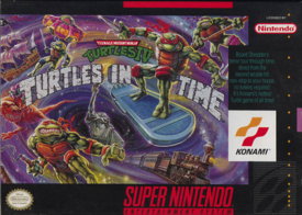 TMNT Turtles in Time SNES Cover Art.png