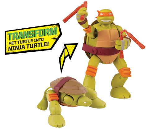 Mutations Michelangelo (2014 action figure)