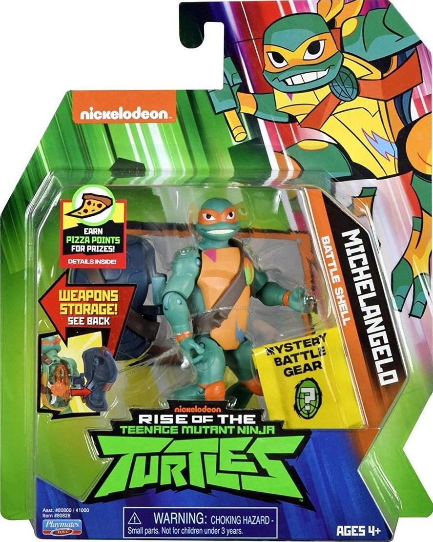 Battle Shell Michelangelo (2018 action figure)