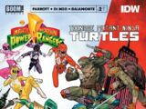 Mighty Morphin Power Rangers/Teenage Mutant Ninja Turtles issue 2