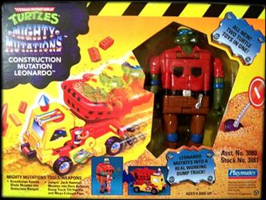 Construction Mutation Leonardo (1994 action figure)