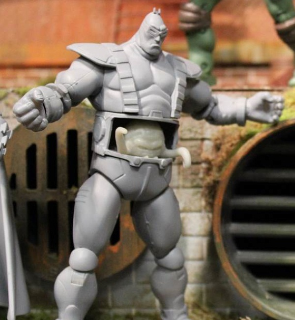 Classic Collection Krang (Unreleased action figure)