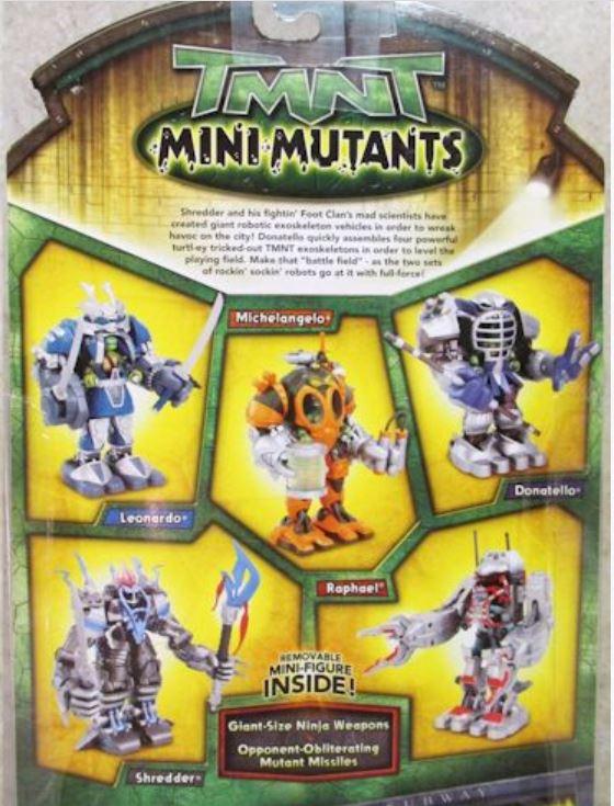 Mini-Mutants Exoskeleton Leonardo (2009 mini-figure)