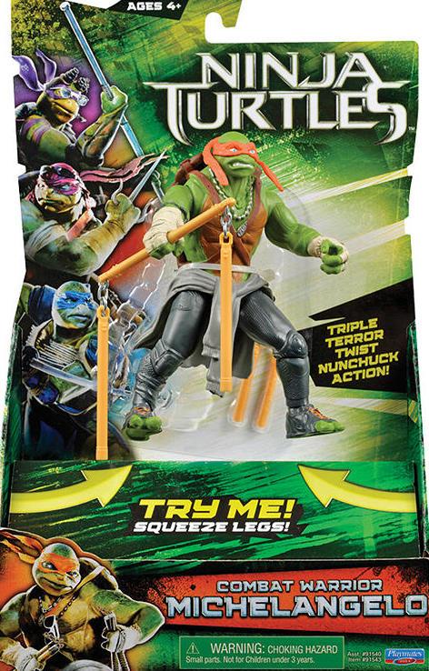 Combat Warrior Michelangelo (2014 action figure)