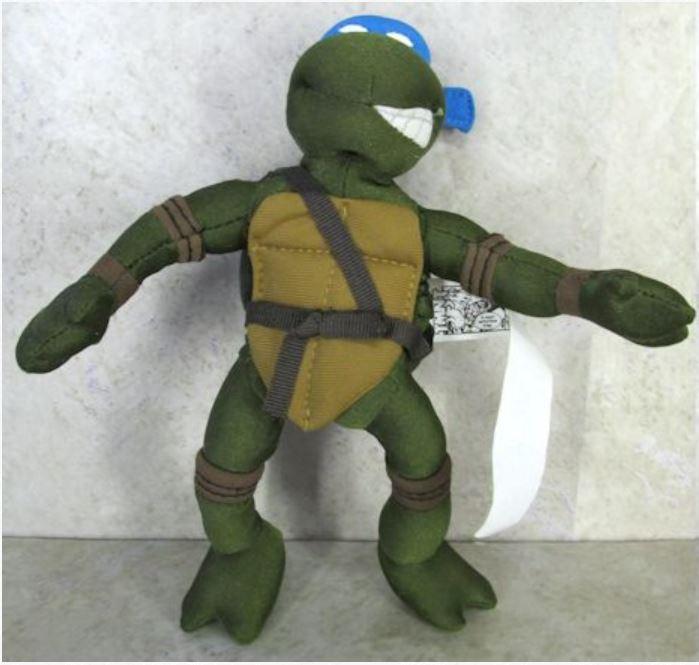 Mini Plush Leonardo (2004 action figure)
