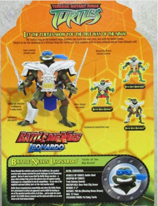 Battle Nexus Leonardo (2004 action figure)