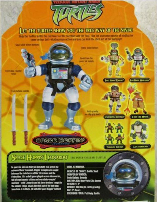 Space Hoppin' Leonardo (2004 action figure)