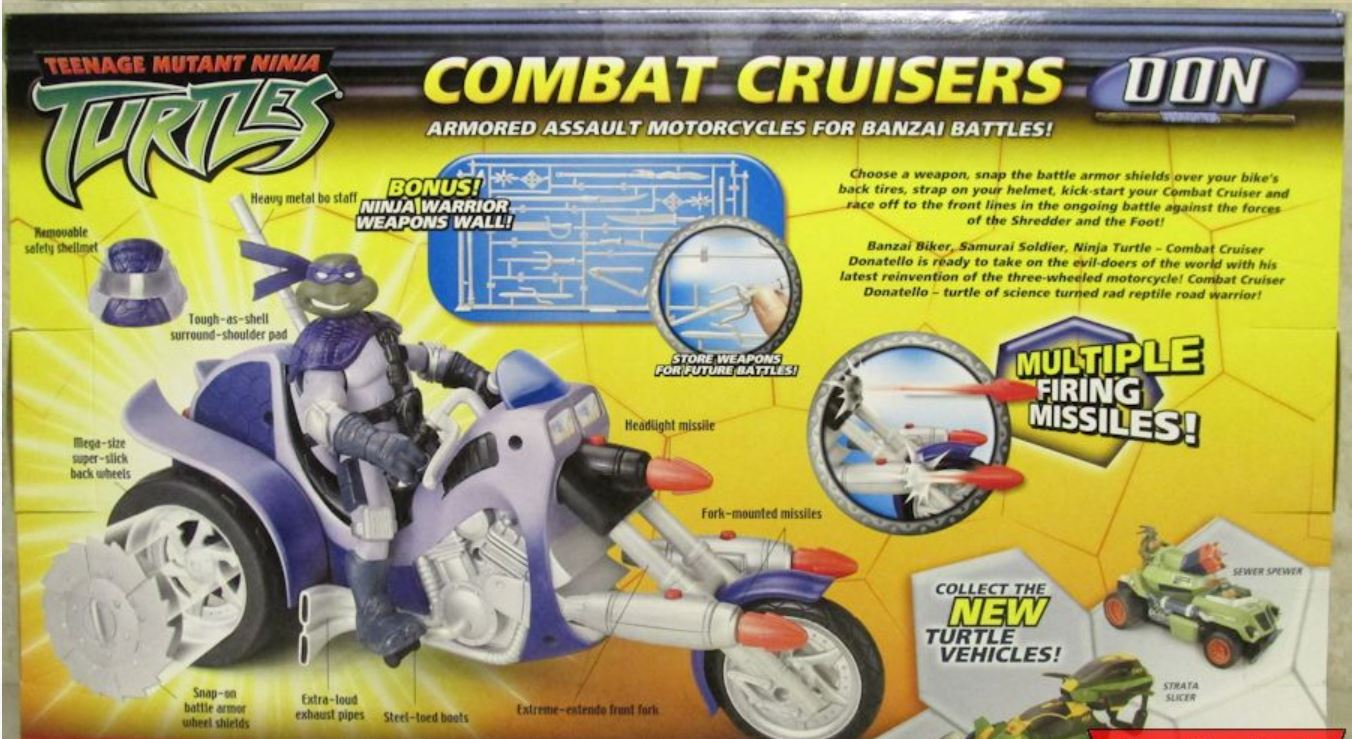 Combat Cruisers Don (2005 action figure)