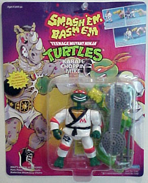 Karate Choppin' Mike (1992 action figure)