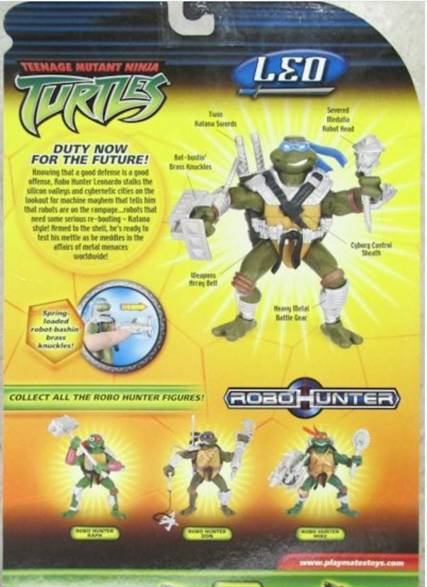 Robo Hunter Leo (2005 action figure)