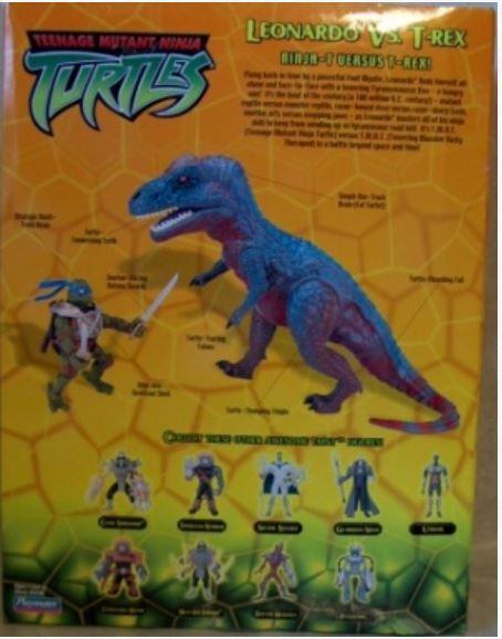 Leonardo Vs T-Rex