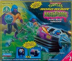 Shredder 1993 road ready toy