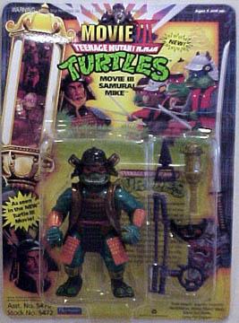 Movie III Samurai Mike (1992 action figure)