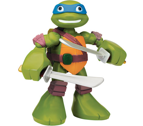 Half-Shell Heroes Mega Mutant Leonardo (2014 action figure)