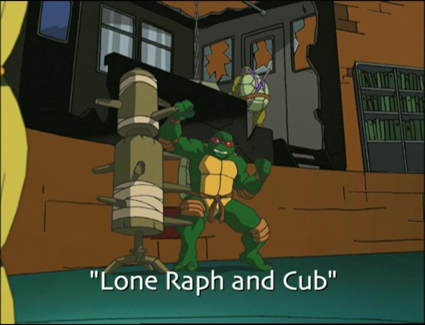 Lone Raph and Cub