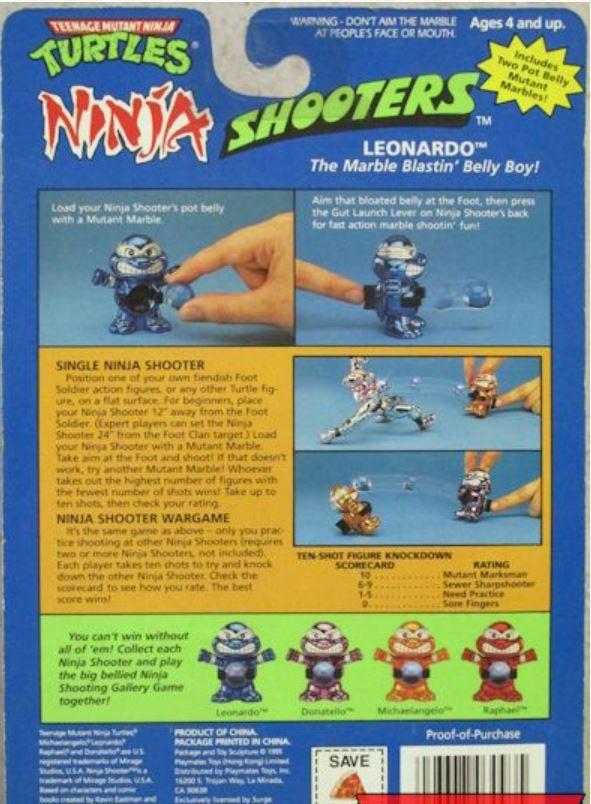 Ninja Shooter Leonardo