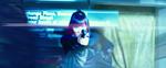 Karai appears for a nanosec