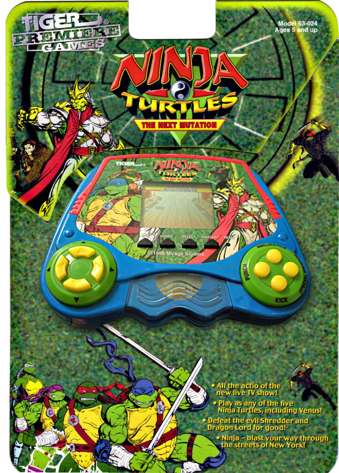 Ninja Turtles: The Next Mutation (LCD game)