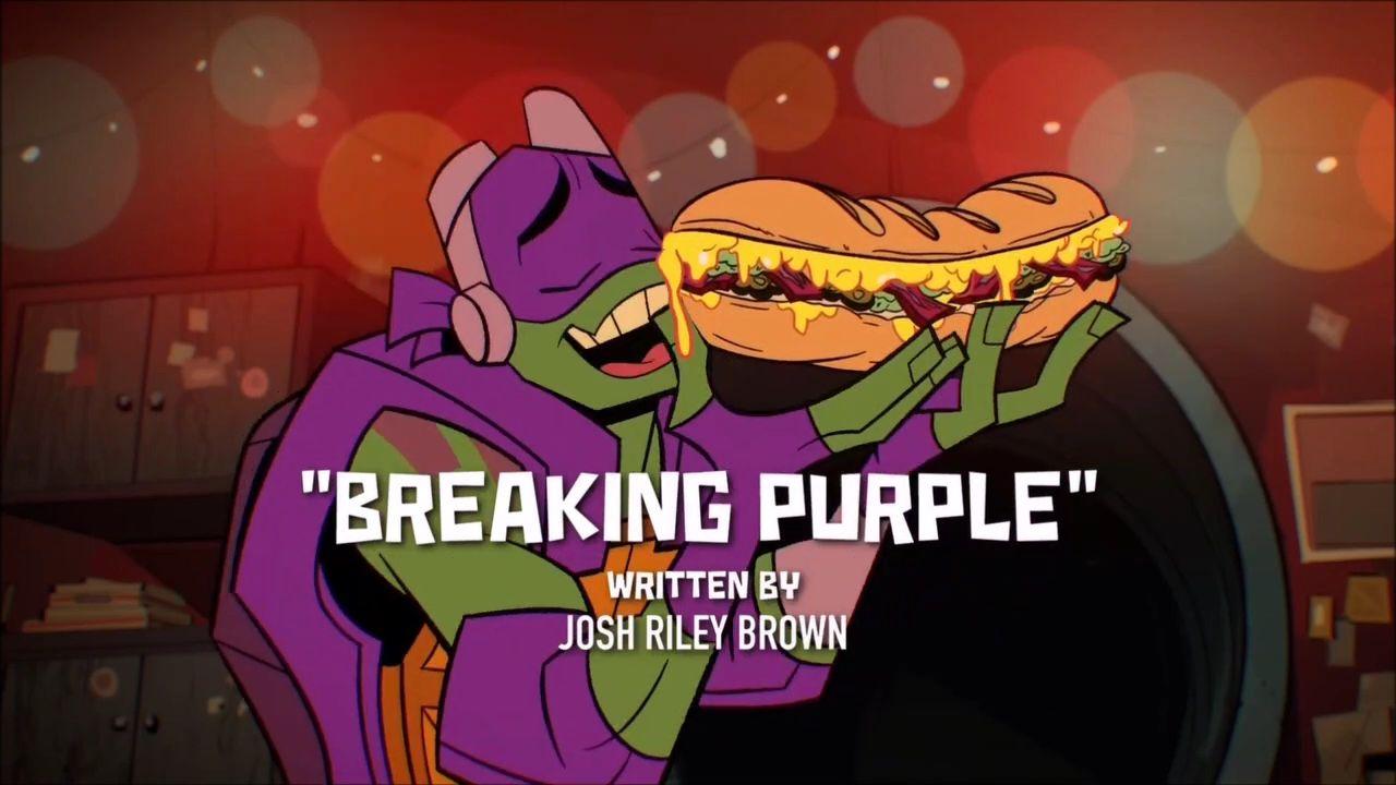 Breaking Purple