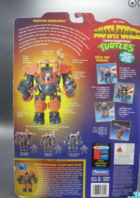 Robotation Michaelangelo (1996 action figure)