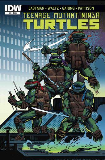 Teenage Mutant Ninja Turtles #54 IDW 2016