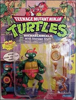 Michaelangelo with Storage Shell (1991 action figure)