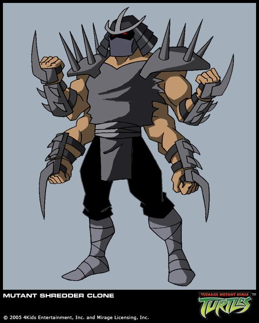 Mutant Shredder clones (2003 TV series)