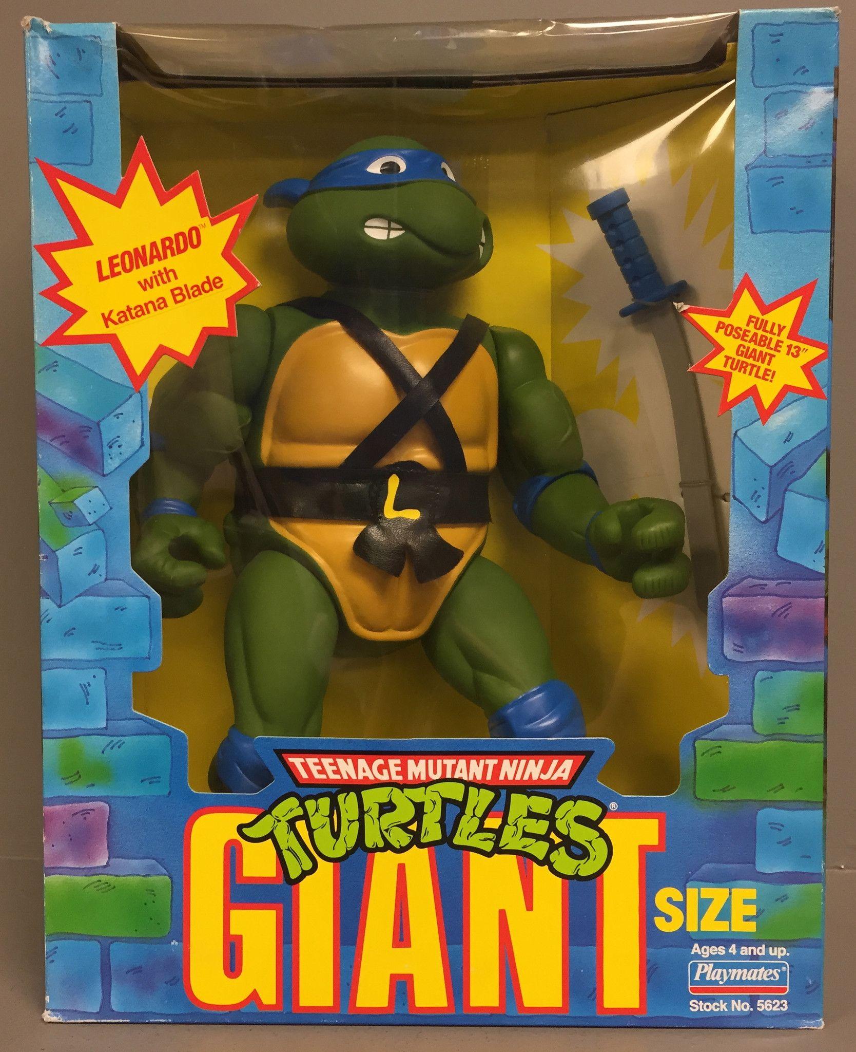 Giant Turtles Leonardo (1990 action figure)