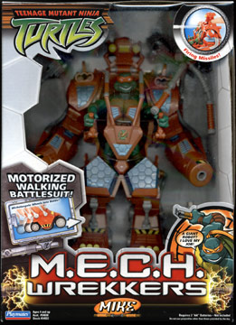 M.E.C.H. Wrekkers Mike (2005 toy)