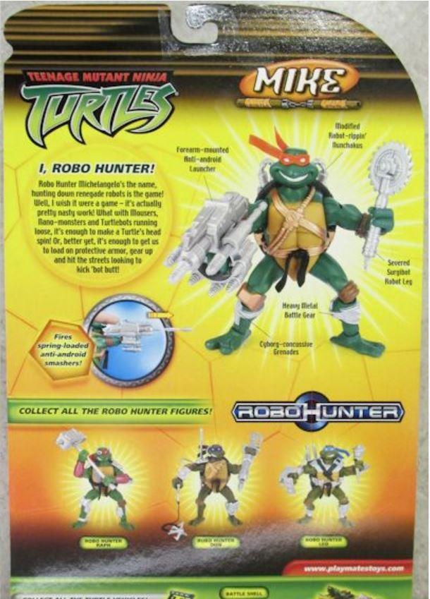 Robo Hunter Mike (2005 action figure)